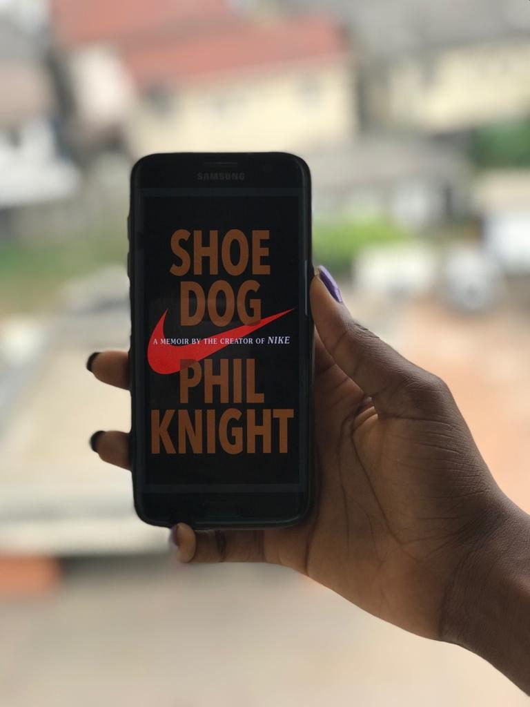 Shoe Dog by Phil Knight, Founder of Nike Book Review + A Giveaway.